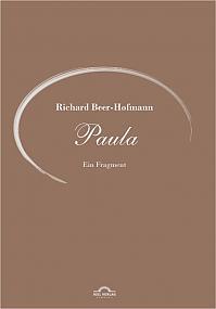 Paula. Ein Fragment