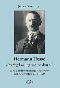 """Hermann Hesse: """"Der Vogel kämpft sich aus dem Ei"""". Eine dokumentarische Recherche der Krisenjahre 1916 – 1920. Korrespondenzen und Quellennachweise"""