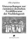 Untersuchungen zur rumäniendeutschen Erzählliteraur der Nachkriegszeit