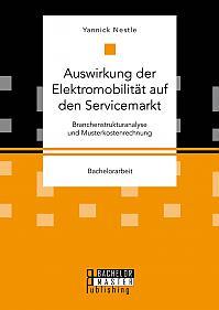 Auswirkung der Elektromobilität auf den Servicemarkt. Branchenstrukturanalyse und Musterkostenrechnung