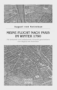 Meine Flucht nach Paris im Winter 1790